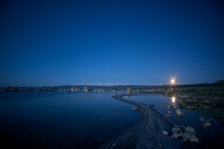 Moon Rise over Mono