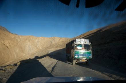 The Descent from Namika La