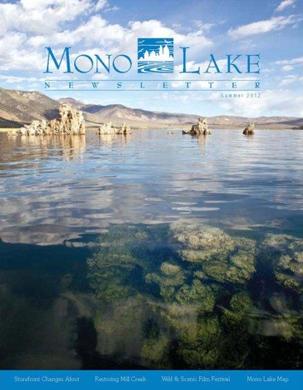 Mono Lake Summer Newsletter 2012