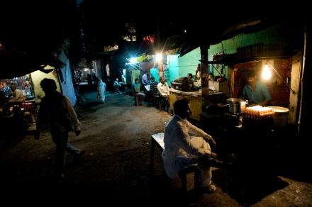 Night Scene, Varanasi