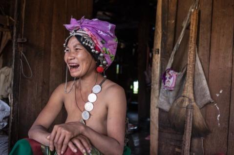 A villager near Muang Sing