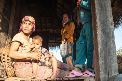 Villagers near Muang Sing