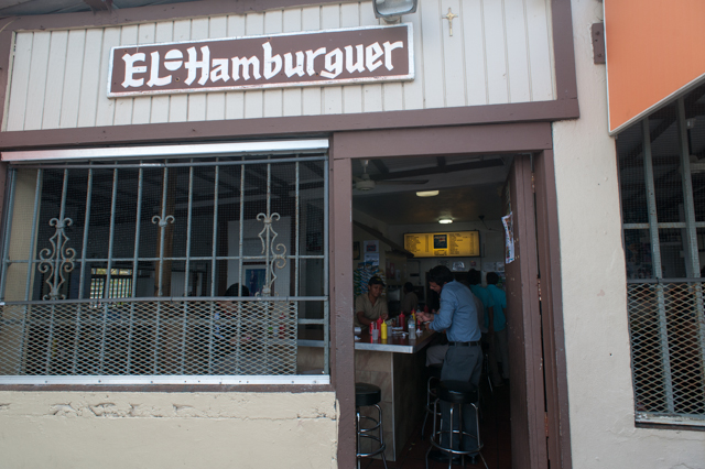 While I tried much of the local food, this little burger joint in Old San Juan was the best food on the island