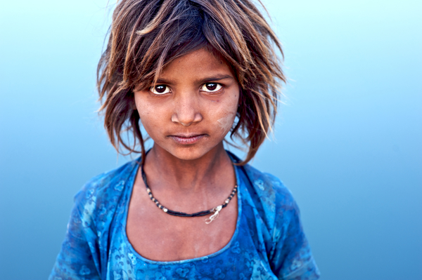A Camel Driver's Daughter at the Pushkar Fair