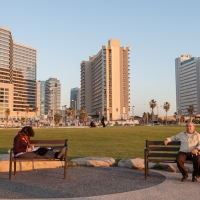 Israel - Street Photography, 11 Photos of People on Benches