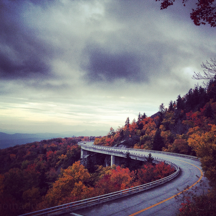 The Blue Ridge Parkway, North Carolina