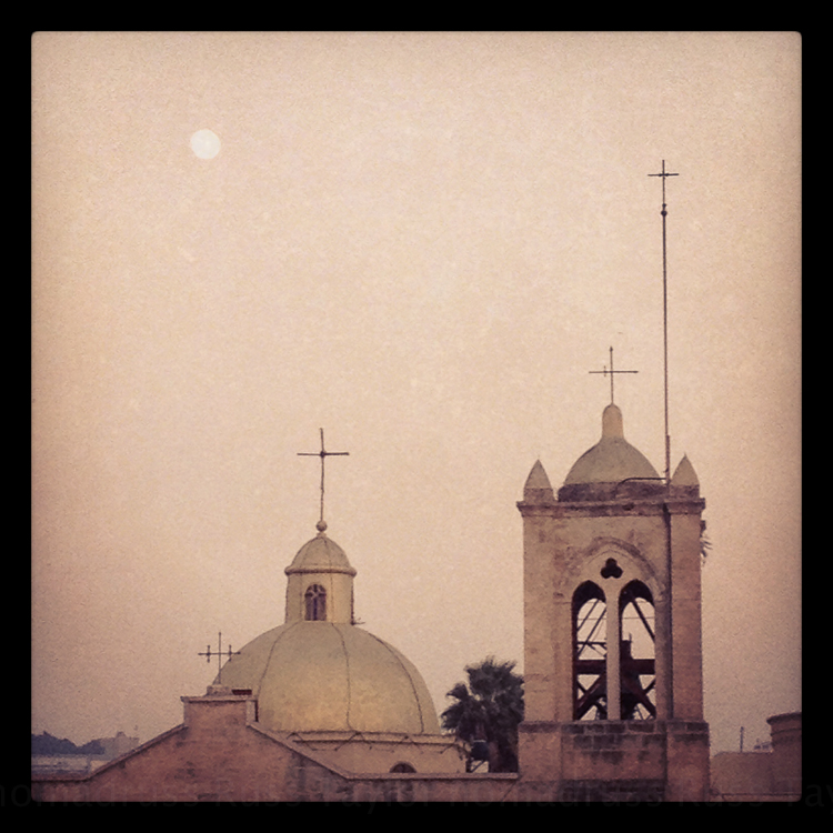 Moonrise, Nazareth