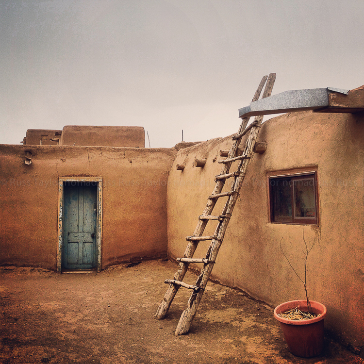 The Taos Pueblo, New Mexico