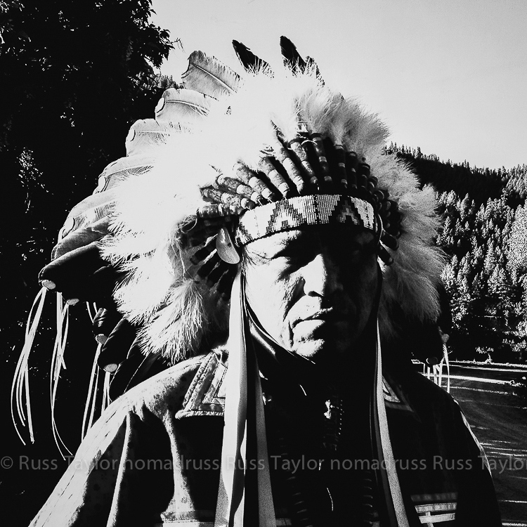 Jicarilla Apache Chief, Dulce, New Mexico