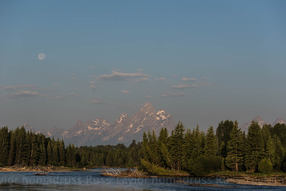 Yellowstone Amp The Tetons The Full Moon Nomadruss In Words And Photos